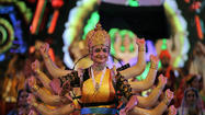 Gods and goddesses: Heavenly festivals in India and Malaysia