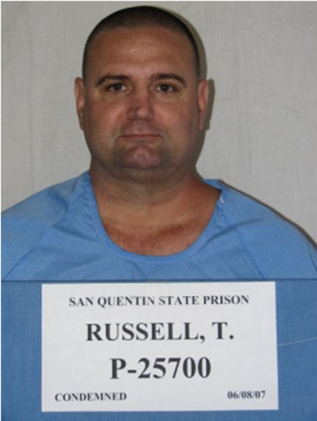 Timothy Russell, convicted of killing two Riverside County sheriff's deputies, has died on death row, possibly from suicide.