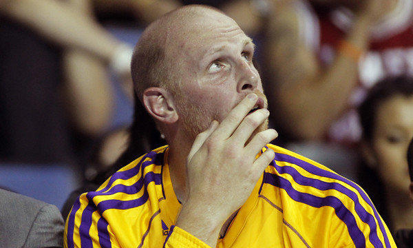 Chris Kaman has been starting alongside Pau Gasol in preseason games.