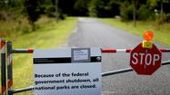 Candidates run from government shutdown, play congeniality card