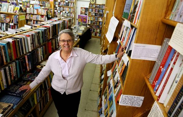 Ann Christophersen and her business partner, who own Women & Children First bookstore, are looking to retire.