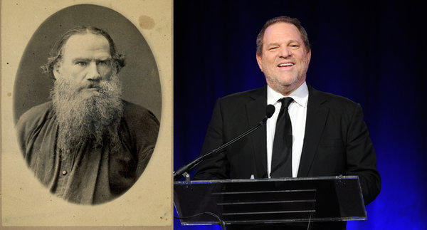 "Harvey Weinstein will help produce a new version of Leo Tolstoy's ""War and Peace."""