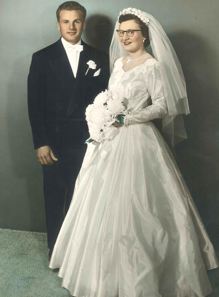 Mr. and Mrs. Frank Kargol, 1953