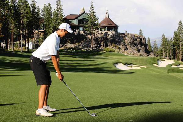 Glenbrook North golfer Brian Ohr.