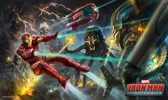 The Iron Man Experience is the first major ride based on a Marvel character coming to a Disney park. It's planned for Hong Kong Disneyland.