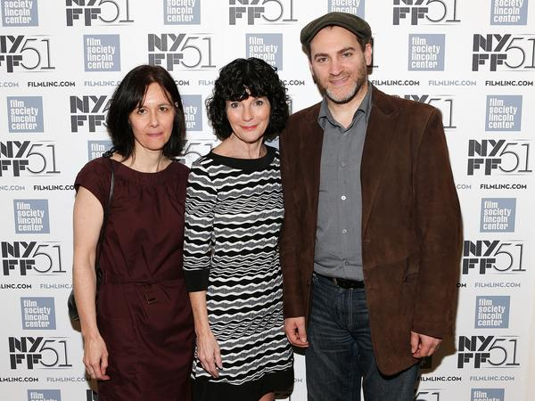 "Producer Marianne Bower, left, director Nancy Buirski and actor Michael Stuhlbarg attend the premiere of ""Afternoon of a Faun: Tanaquil Le Clercq"" at the New York Film Festival."