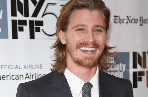 "Actor Garrett Hedlund attends the ""Inside Lleywn Davis"" premiere during the 51st New York Film Festival at Lincoln Center."