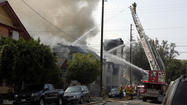 Church fire: Firefighter expected to survive injuries, official says