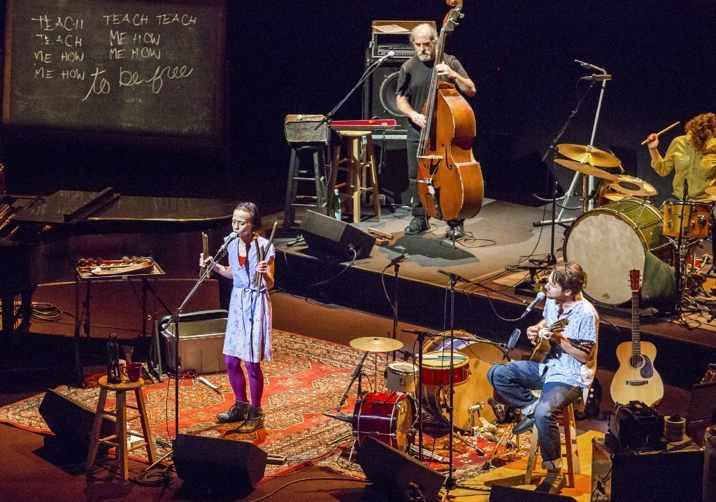 Review: Fiona Apple, Blake Mills and band shine at Disney ...