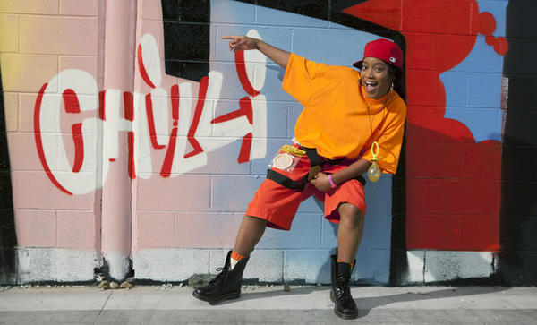 "Keke Palmer plays Rozonda ""Chilli"" Thomas in VH1's ""CrazySexyCool: The TLC Story."""