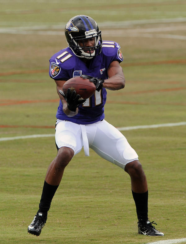 The Ravens drafted Tommy Streeter in the 2012 draft with the 198th overall pick in the sixth round out of Miami. Streeter was on injured reserve during his rookie season due to a foot injury. The Ravens waived him just before the final preseason game in August and he landed a couple of weeks later on the Buffalo Bills practice squad.