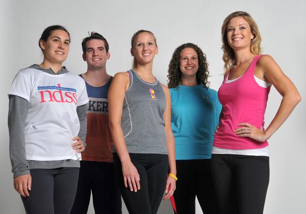 Nicole Goetze, Ryan Joyce, Sarah Bennett, Lauren Kensky and Kristen Berset.