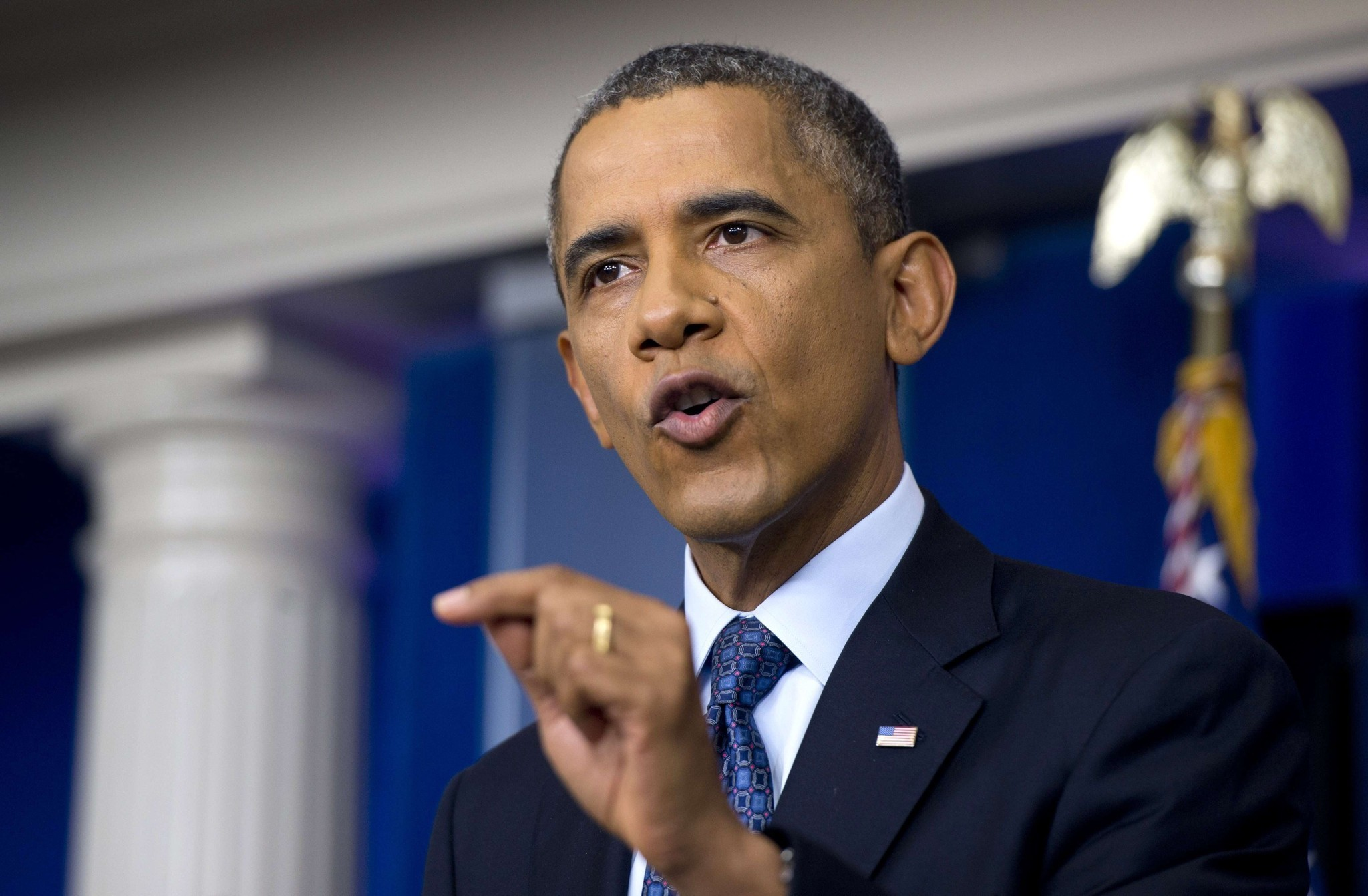 Government Shutdown Obama Obama news conference ...