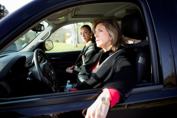 "Yolanda McClary and Kelly Siegler in ""Cold Justice&qu"