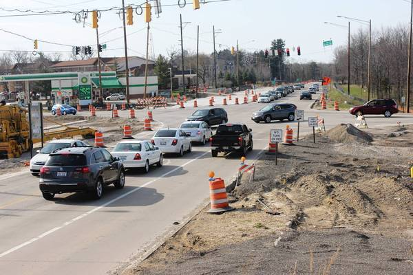 Route 21 north of Libertyville is one of the projects included in the alliance's list of projects.