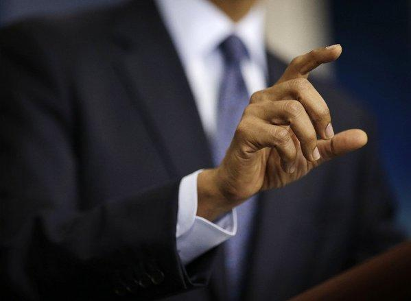 President Obama pointed fingers at the default caucus on Tuesday. It's about time.