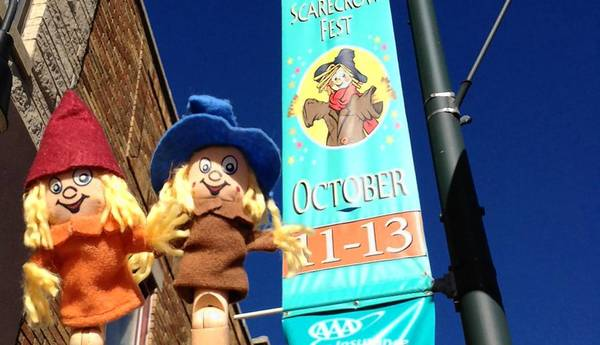 New to the festival this year are two Scarecrow Events Corespondents, Chuck and Char. The puppets have a blog and Instagram and Twitter accounts, said Pawlowski, Marketing Manager/Festival Liaison for the Greater St. Charles Convention and Visitors Bureau.