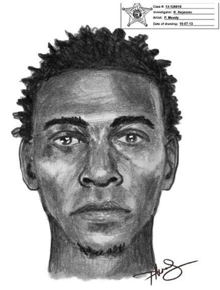 Deputies are searching for a man accused of snatching the cellphone of a girl waiting for a ride outside of Lake Worth High School on Oct. 1.