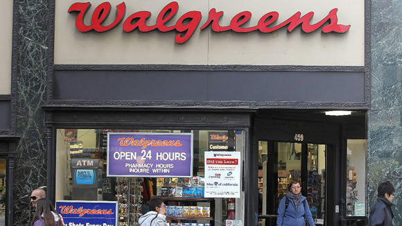 A Walgreens store in San Francisco is shown in a 2012 file photo.