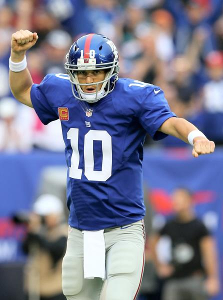 Will Eli Manning and the Giants put up big fantasy numbers against the Bears? Well, the Bears D is hurting ...