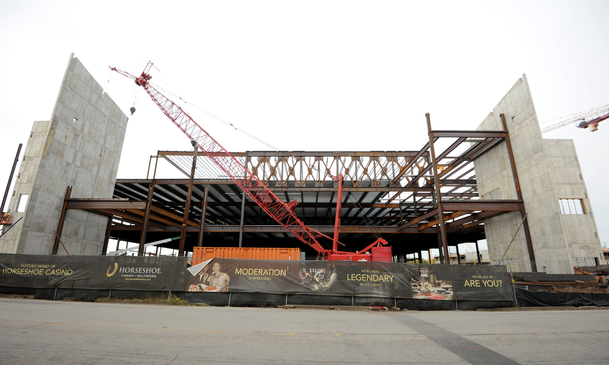 Horseshoe Baltimore casino under construction [Pictures] - Casino construction