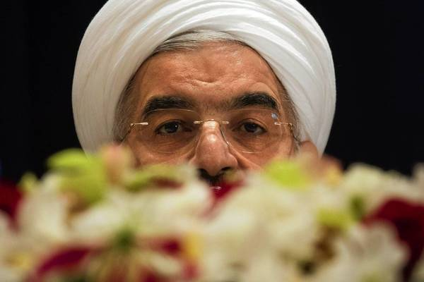 "Iranian President Hasan Rouhani says his country has an ""inalienable right"" to develop its nuclear program."