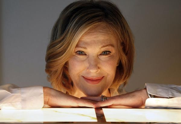 """A.C.O.D."" actress Catherine O'Hara, also known for ""SCTV"" and Christopher Guest's comedies, credits her parents for her sense of humor."