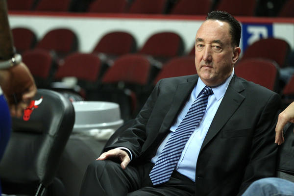 General manager Gar Forman likes the makeup of the Bulls so far this preseason.