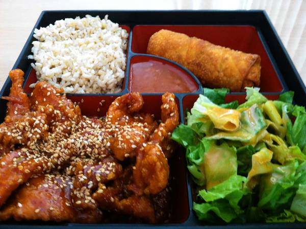 Food find: Sesame Chicken at Good Fortune Chinese Cuisine David Nicholson/Daily Press David Nicholson/Daily Press