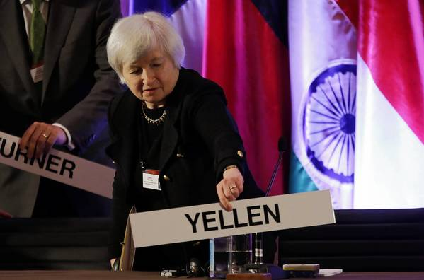Janet Yellen would be the first Democrat to head the Federal Reserve since Paul Volcker retired in 1987.