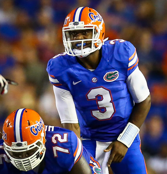 New starting quarterback Tyler Murphy is calling the plays for the Gators after replacing Jeff Driskel, who was injured.
