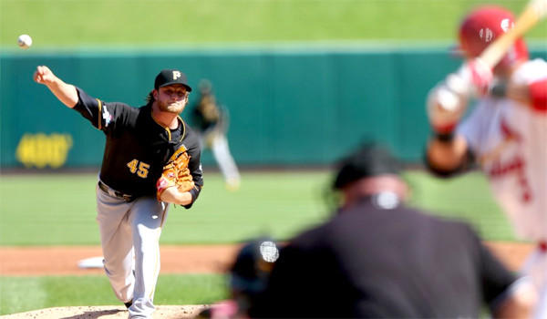 With Pittsburgh's playoff hopes on the line in Game 5 of their National League Division Series against the St. Louis Cardinals, rookie Gerrit Cole will take the mound Wednesday for the Pirates.