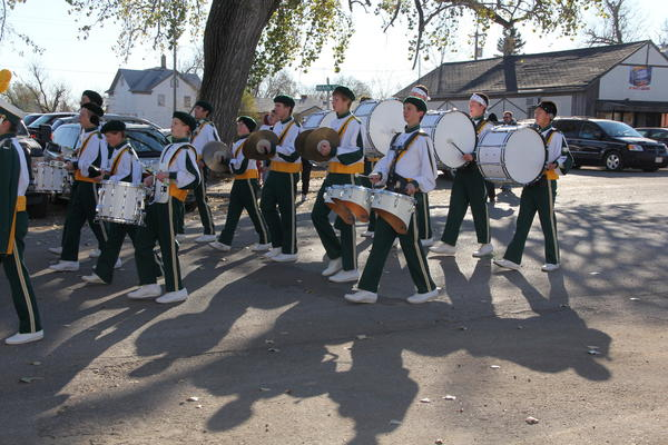 "The Aberdeen Roncalli Marching Band performed ""Party Rock Anthem"" and took home the honor of band of distinction in the combined category in 2012."