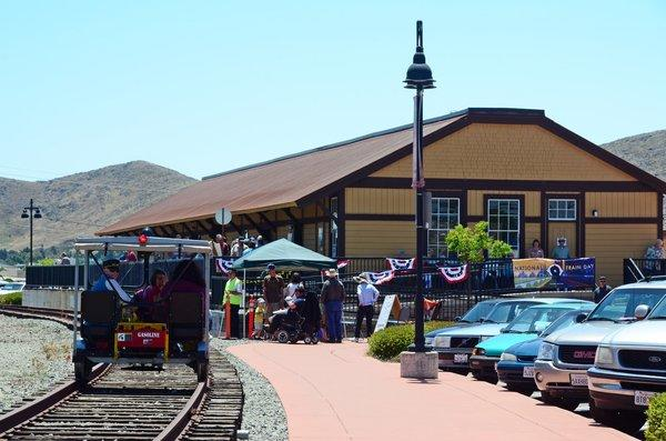 The San Luis Obispo Railroad Museum at 1940 Santa Barbara St. is set to officially open on Saturday.