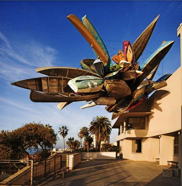 "The Museum of Contemporary Art San Diego's La Jolla location will be free to visitors Nov. 3 during Open Doors La Jolla. ""Pleasure Point"" by artist Nancy Rubins is installed at the site."