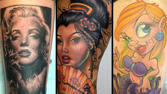 Ink Master Tattoos