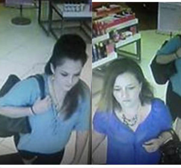 Detectives today released surveillance images of two women who stole more than $4,000 worth of fragrances from the Ulta store at 2609 W. Osceola Parkway.