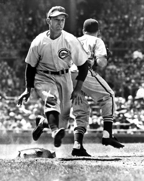 The Cubs' Andy Pafko during the 1948 season.