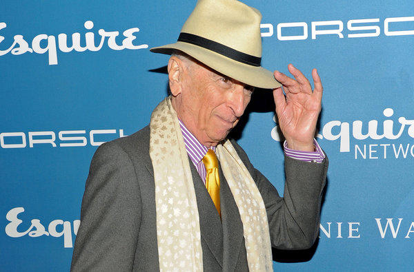"Gay Talese, shown at Esquire's 80th anniversary celebration last month in New York, wrote ""Frank Sinatra Has a Cold"" for the magazine in 1965."