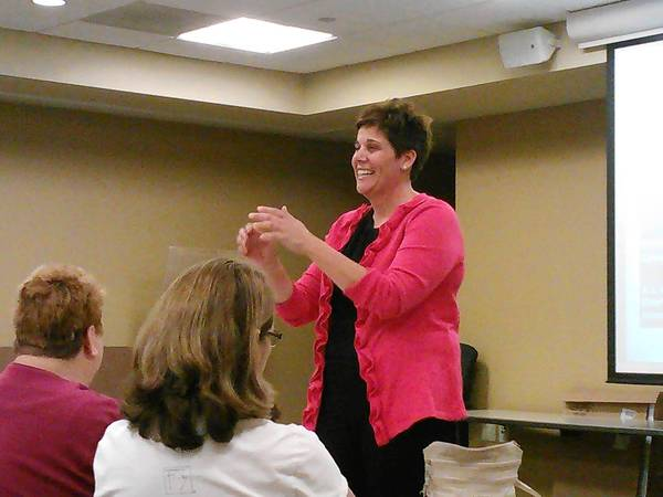 State Sen. Jennifer Bertino-Tarrant, D-Shorewood, hosted an Obamacare question-and-answer session Oct. 2 in Plainfield.