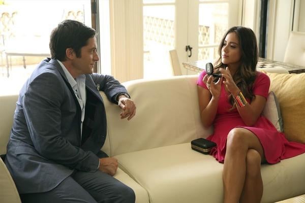 "David Conrad and Chloe Bennet in ""Marvel's Agents of S.H.I.E.L.D."""