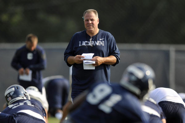 Hank Hughes is now working for his third coach at UConn.