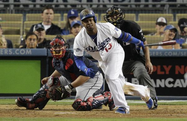 Hanley Ramirez went .500 at the plate during the Dodgers' three-games-to-one National League division series victory over Atlanta.