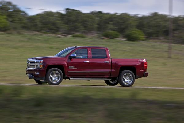 GM will recall the 2014 Chevrolet Silverado, above, and GMC Sierra to fix a problem with the seats.
