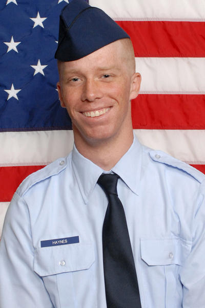 Air Force Airman Brandon T. Haynes.