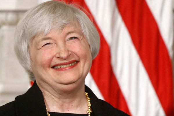 Janet Yellen, President Obama's nominee to be the next Federal Reserve chair, is a rarity: a powerful woman with gray hair.