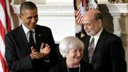 Obama nominates Yellen as Fed chief, calls her a champion for workers