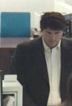 The FBI provided this photo of the suspect in a robbery at a Citibank in Costa Mesa.