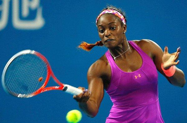 Sloane Stephens is currently ranked No. 12 in the world.