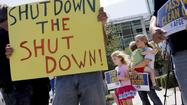 Republican popularity losing ground to government shutdown